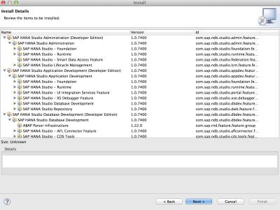 How to install SAP HANA studio on Mac OS? – milan boruvka / log
